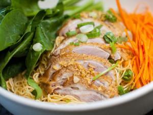 Duck Noodle Soupless